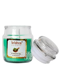 Vela Aromatica Frasco Krishna Aromaterapia 75grs