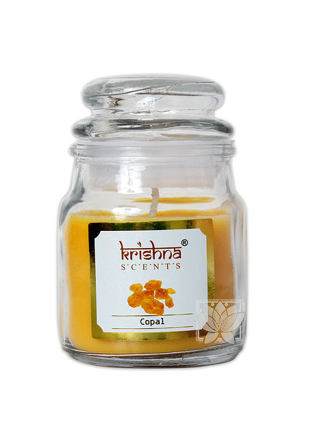 Vela Aromatica Frasco Krishna Copal 75grs