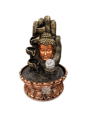 Pileta de Agua Cabeza de  Buda o Rostro 16