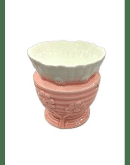Difusor de cerámica Flor Pétalos