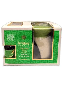 Set Difusor Krishna Coleccion Zen Jazmin y Maravilla