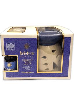Set Difusor Coleccion Zen Vainilla y Panal