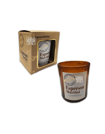 Vela Aromaticas Vidrio Espresso Martini CK-57