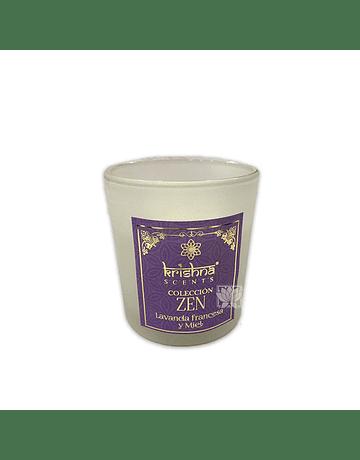 Vela Aromaticas Krishna Lavanda Francesa y Miel Zen-109
