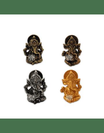 Set Figura Ganesh  Poliresina  1,7