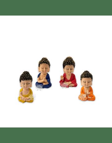 Set Figura Budha  Poliresina  2,5
