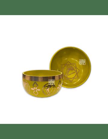 Cuenco 7 Chakras Liso Color  N°2 (700g) VDQ20-2