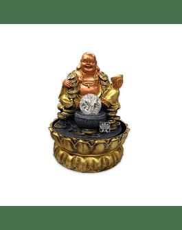 """Pileta de Agua Buda con monedas   10"""" 16051"""