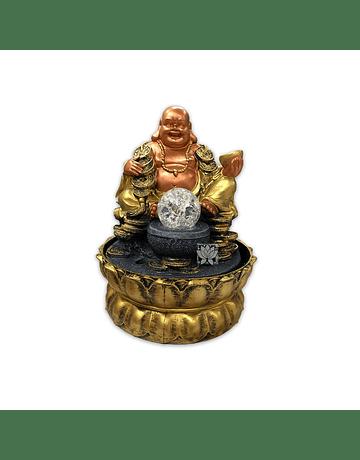 Pileta de Agua Buda con monedas   10