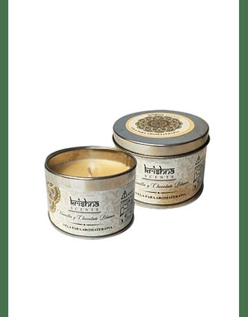 Velas Aromáticas Krishna Vainilla y Chocolate Blanco