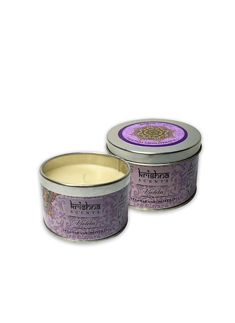 Velas Aromáticas Krishna Violeta