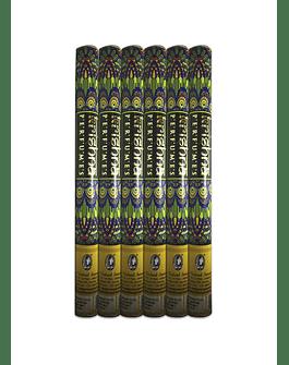 Incienso Krishna Manzana Verde Pack de 6