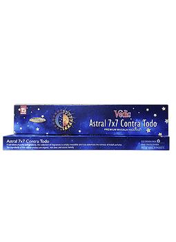 Incienso Vedic Astral 7 X 7 Contra Todo 12un.
