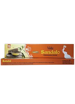 Incienso Vedic Sandalo 12un.