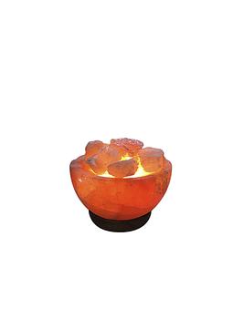 Lámpara  de Sal Canasta de 6 pulgadas