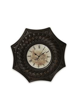 Reloj Mural De Madera
