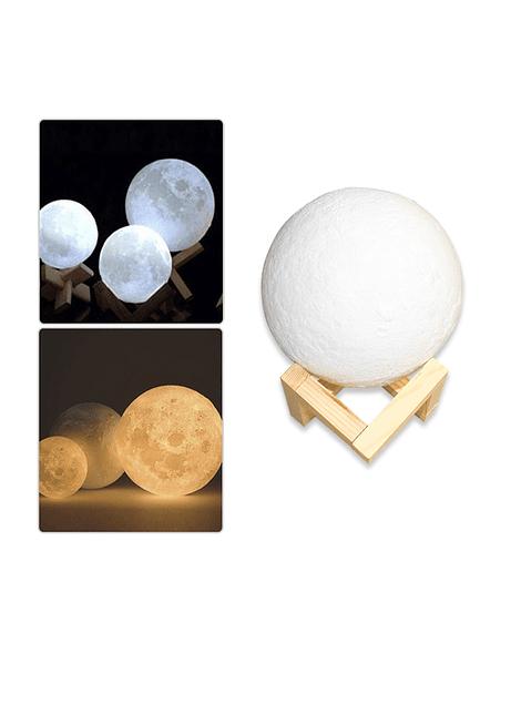 Lampara Luna 3D  15cms