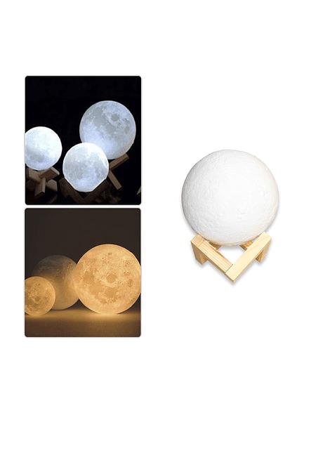 Lámpara Luna 3D 13 Cms