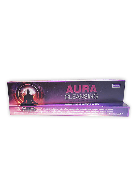 Incienso Nandita Aura Cleansing 12 un
