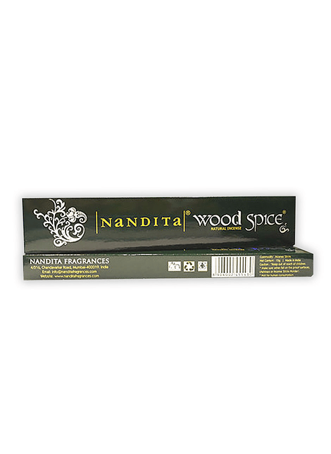 Incienso Nandita Wood Spice 12 un.