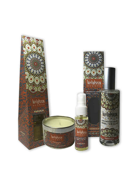 Pack De Aromaterapia Krishna Naranja