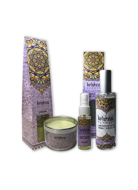 Pack De Aromaterapia Krishna Melisa.