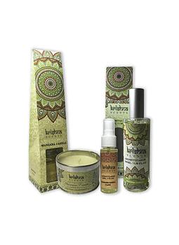 Pack De Aromaterapia Krishna Manzana Canela.