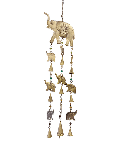 Campana de Viento Elefante