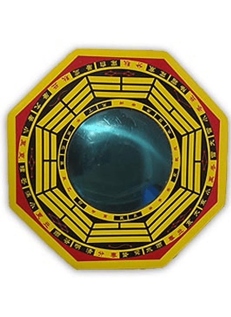 """Espejo Feng Shui  Convexo 6"""""""