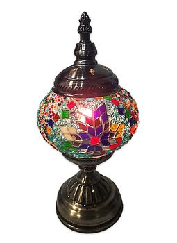 "Lámpara Turcas de Mosaico Pequeña 11.5"""