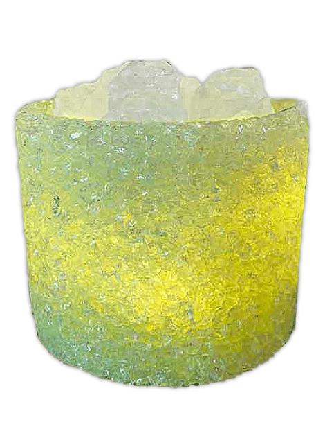 Lámpara de Cristal Natural Grande Redondo USB