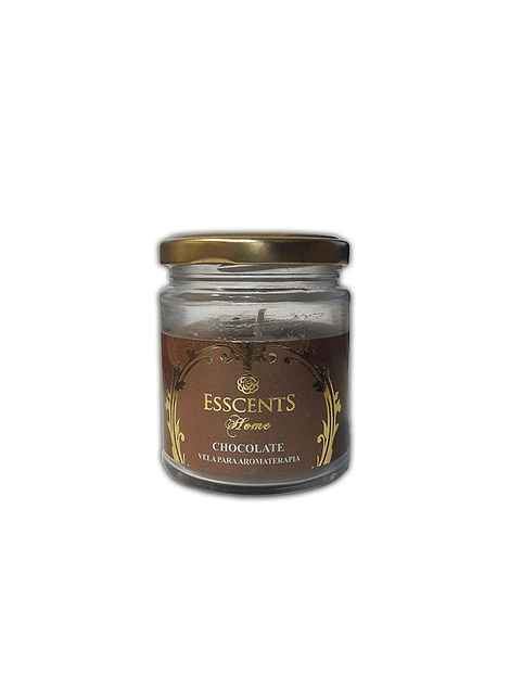 Velas Frasco Esscents con Aroma Chocolate 120grs