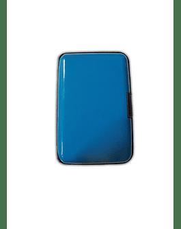 Porta Documentos de Color -Azul