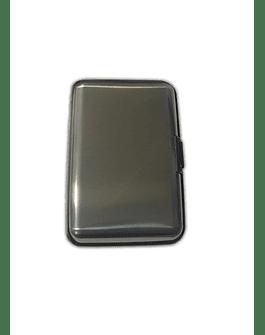 Porta Documentos de Color -Plomo