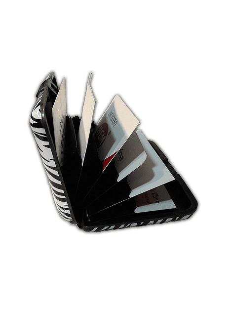 Porta Documentos de Color - Negro