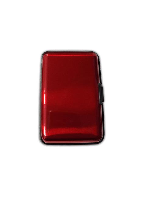 Porta Documentos de Color - Rojo