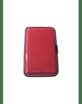 Porta Documentos de Color - Fucsia