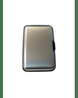 Porta Documentos de Color - Plateado