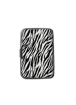 Porta Documentos de Diseño - Animal Print Zebra