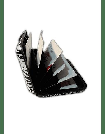 Porta Documentos de Diseño - Cuadros Colores