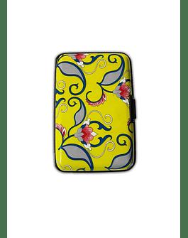 Porta Documentos de Diseño -Figura Flor