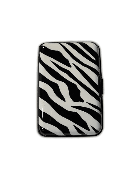 Porta Documentos de Diseño -Animal Print Zebra 2