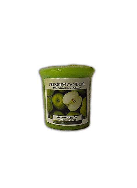 Vela Aromática Cirio Manzana Verde Pequeña