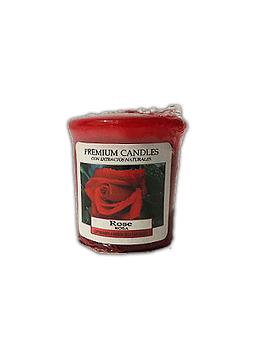 Vela Aromática Cirio Rosa  Pequeña