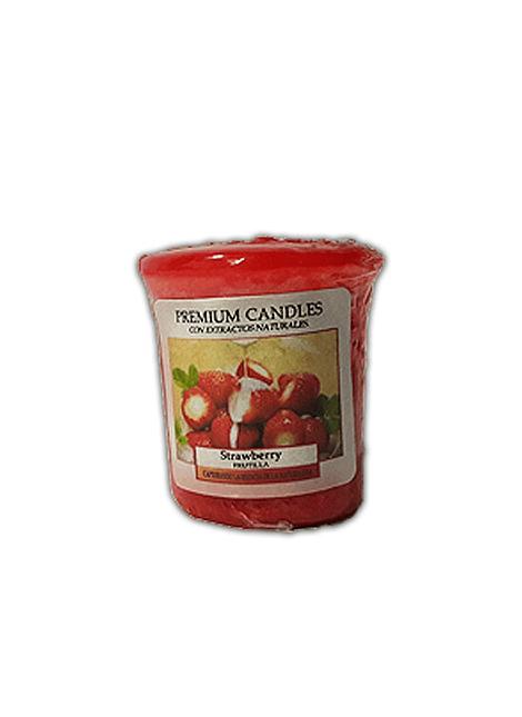 Vela Aromática Cirio Strawberry  Pequeña