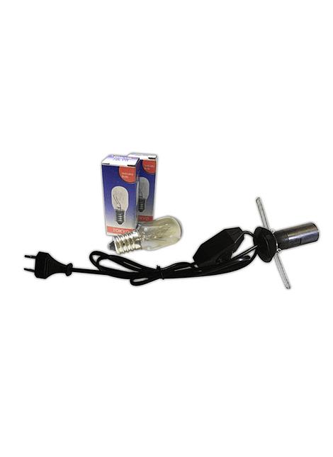 Cable de Repuesto de Lampara de Sal + Ampolleta