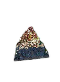 Pirámide de Cristal 5 x 6 Cm