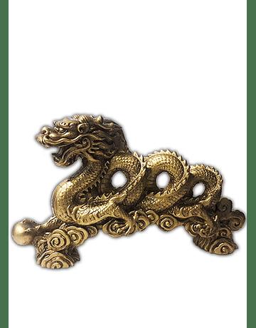 Figura Dragón Espiral Grande