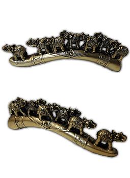 Fila Elefantes Dorado  7cm