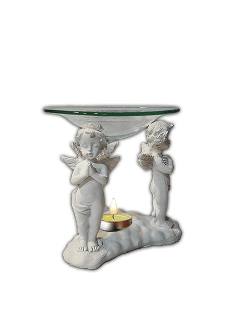 Difusor de Poliresina  y vidrio 3 Ángeles JI19-066